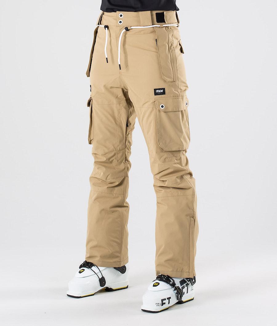 Dope Iconic W Pantaloni da sci Khaki