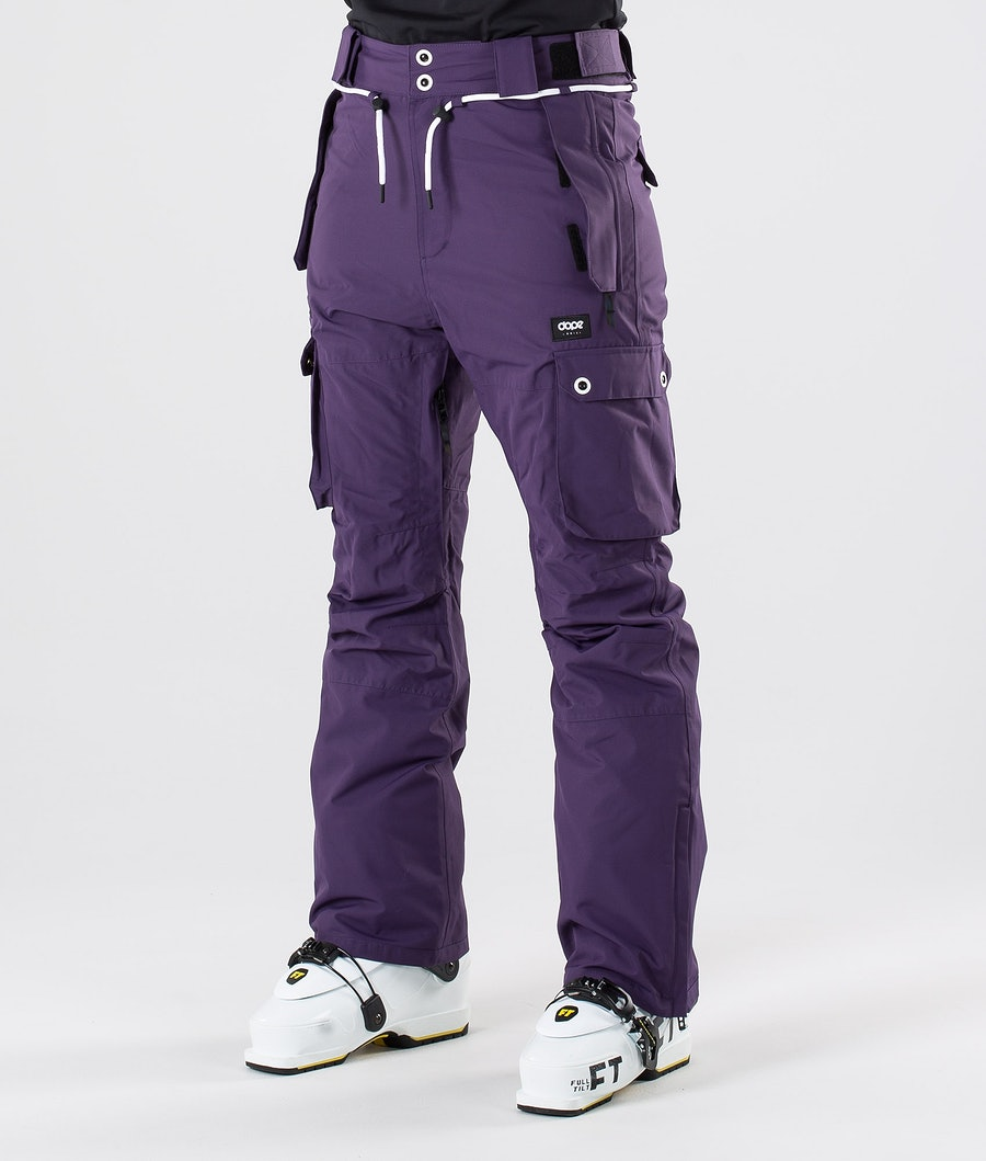 Dope Iconic W Pantalon de Ski Grape