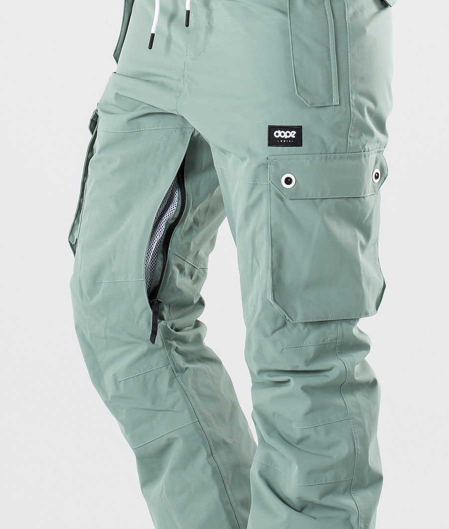Dope Iconic W Skibukse Dame Faded Green