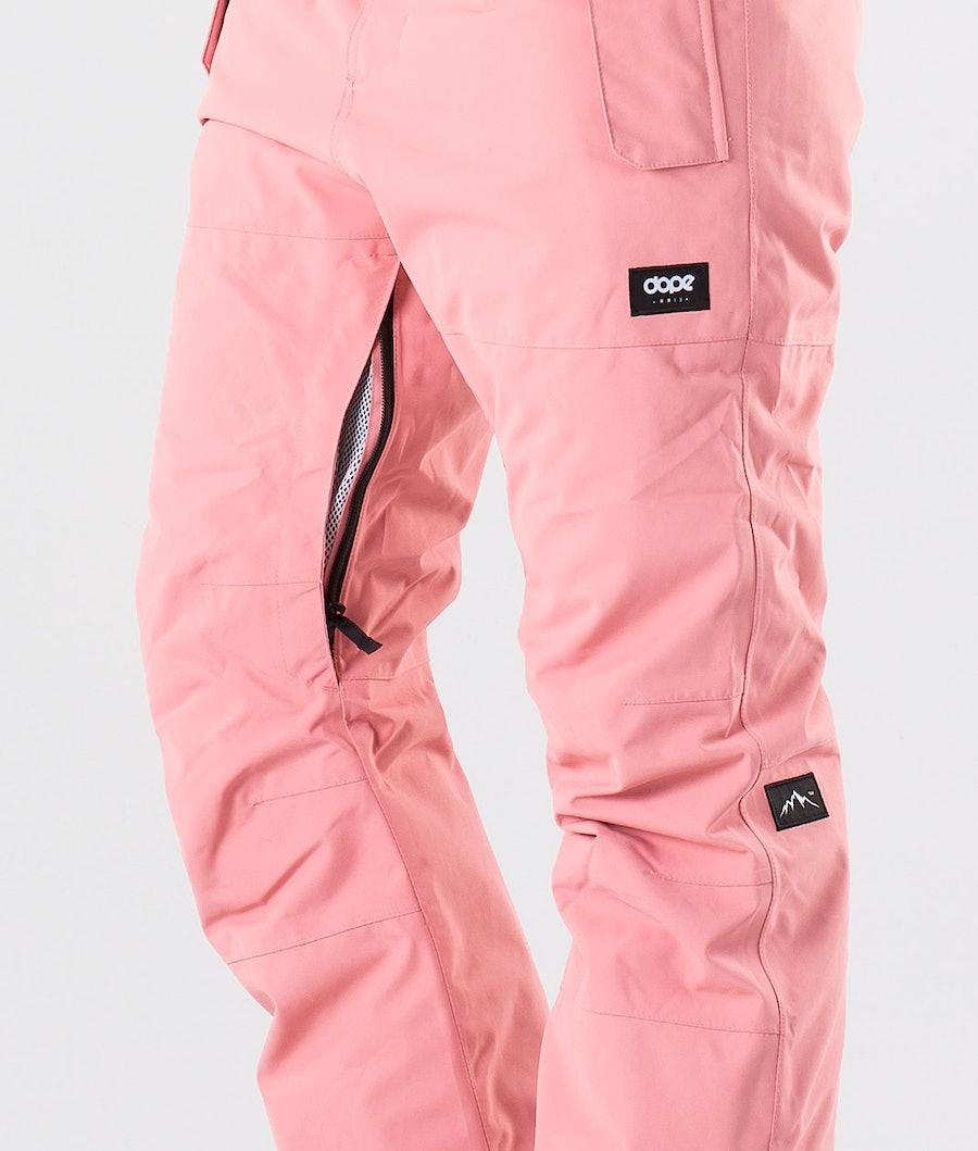 Dope Iconic NP W Pantalon de Ski Femme Pink