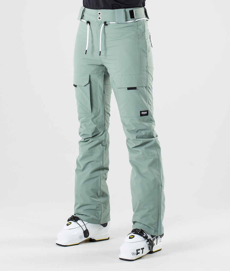 Dope Grace Pantaloni da Sci Faded Green