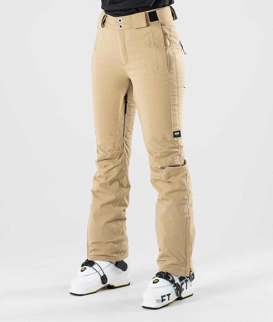 Dope Con Pantalon de Ski Khaki