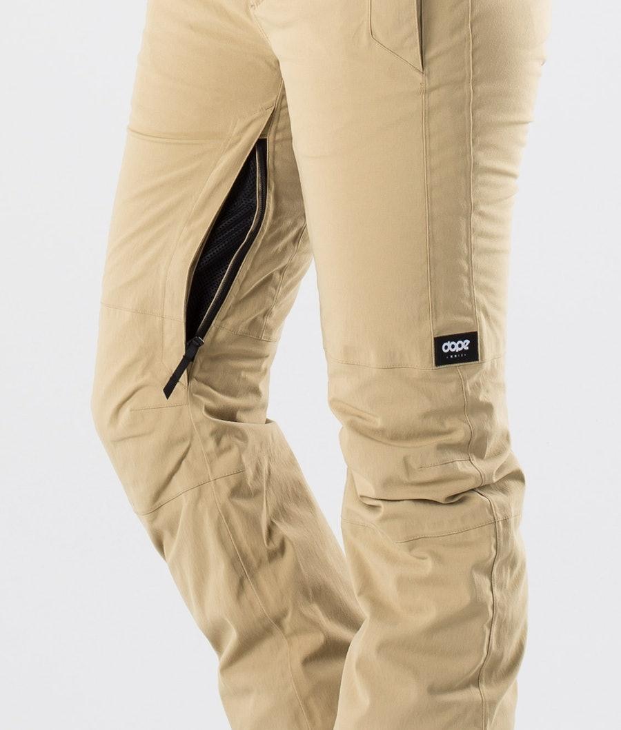 Dope Con Pantaloni da Sci Donna Khaki
