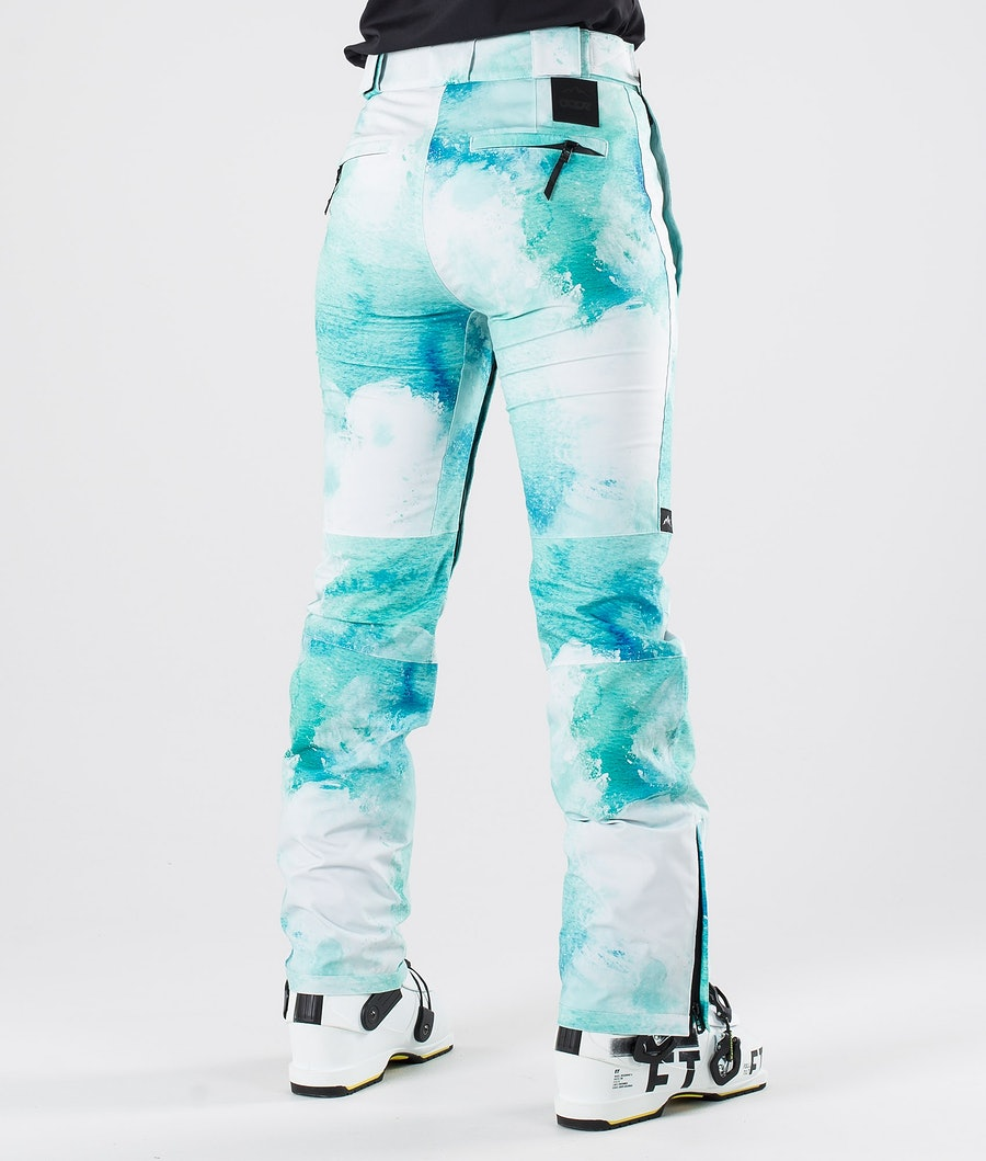 Dope Con Women's Ski Pants Water White