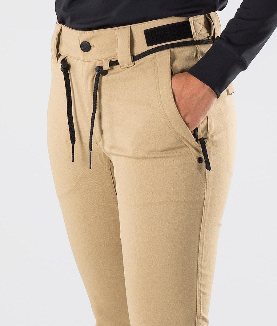 Dope Tigress Women's Ski Pants Khaki