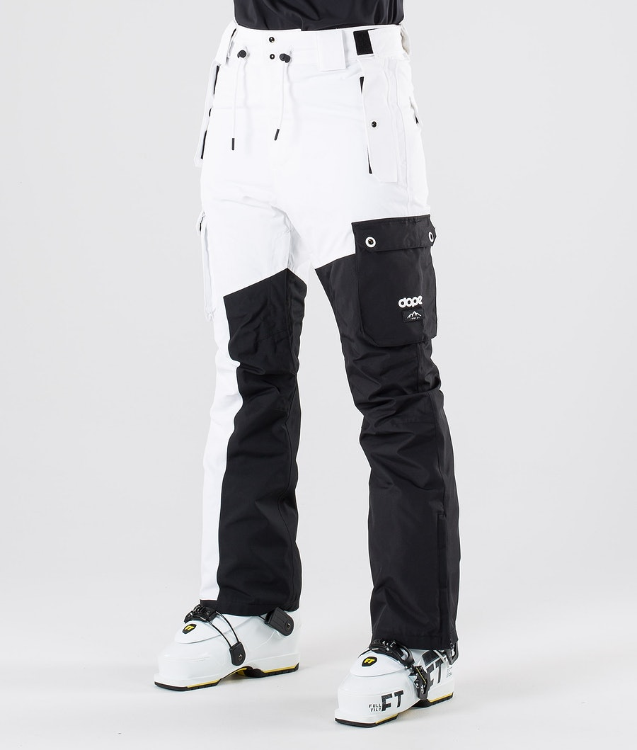 Dope Adept W Ski Pants Black/White
