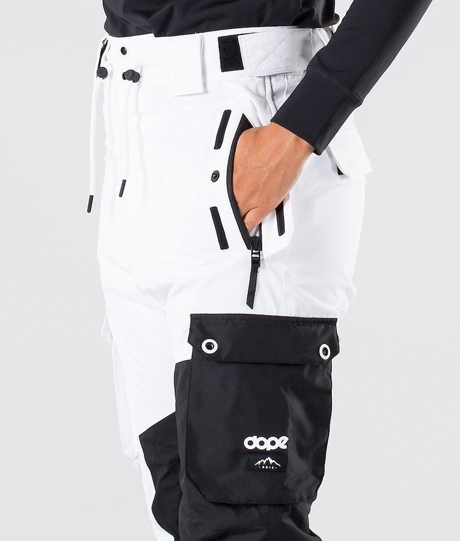 Dope Adept W Pantaloni da Sci Donna Black/White