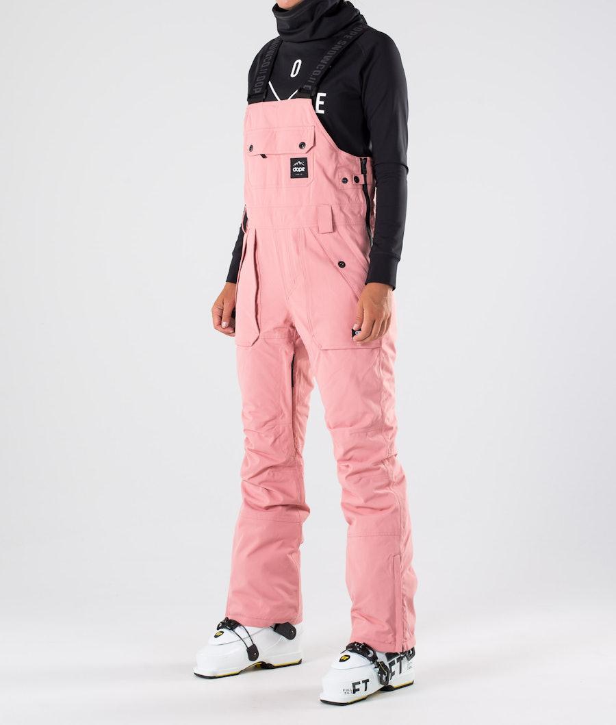 Dope Notorious BIB W Pantalon de Ski Pink