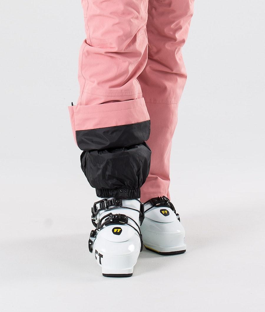 Dope Notorious BIB W Pantalon de Ski Femme Pink