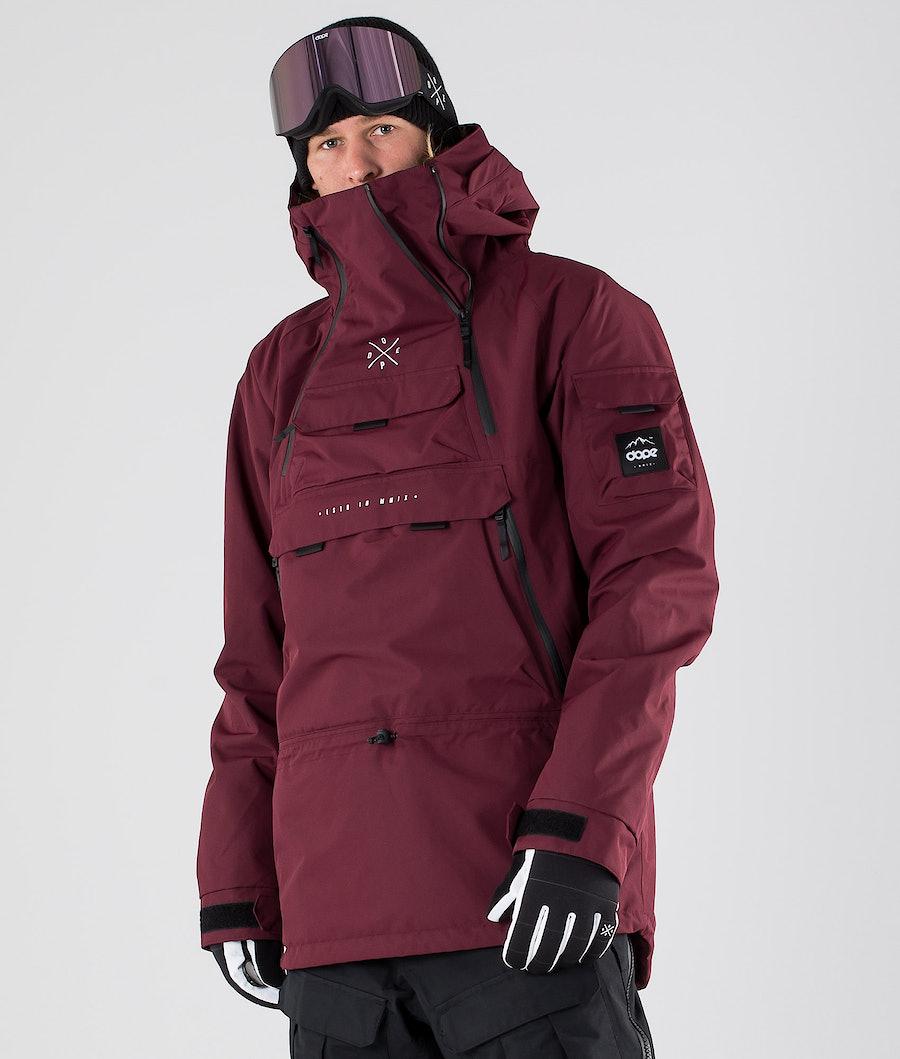 Dope Akin Veste de Ski Burgundy