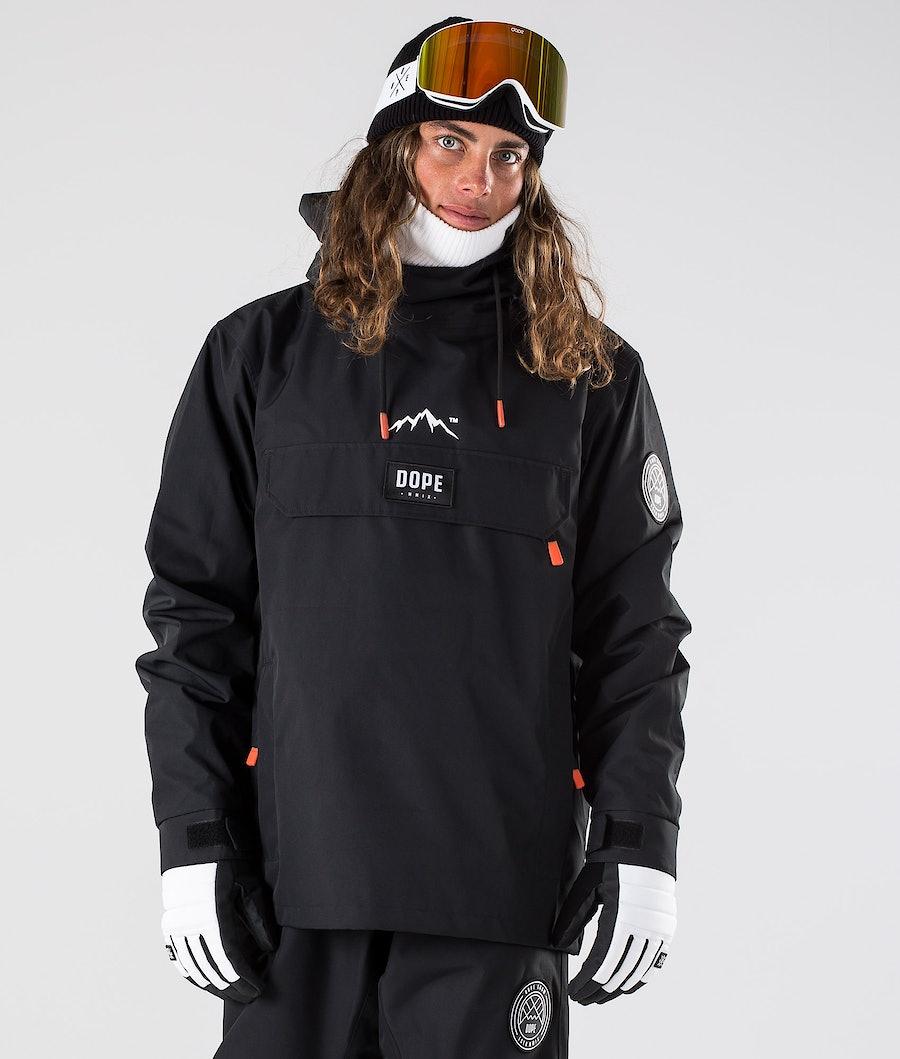 Dope Blizzard Ski Jacket Black