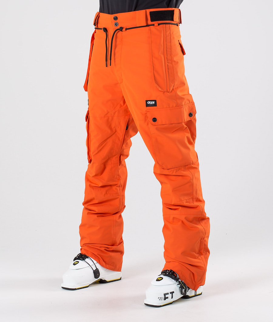 Dope Iconic Ski Pants Orange