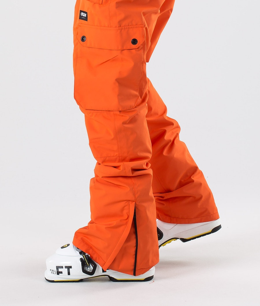 Dope Iconic Pantalon de Ski Orange