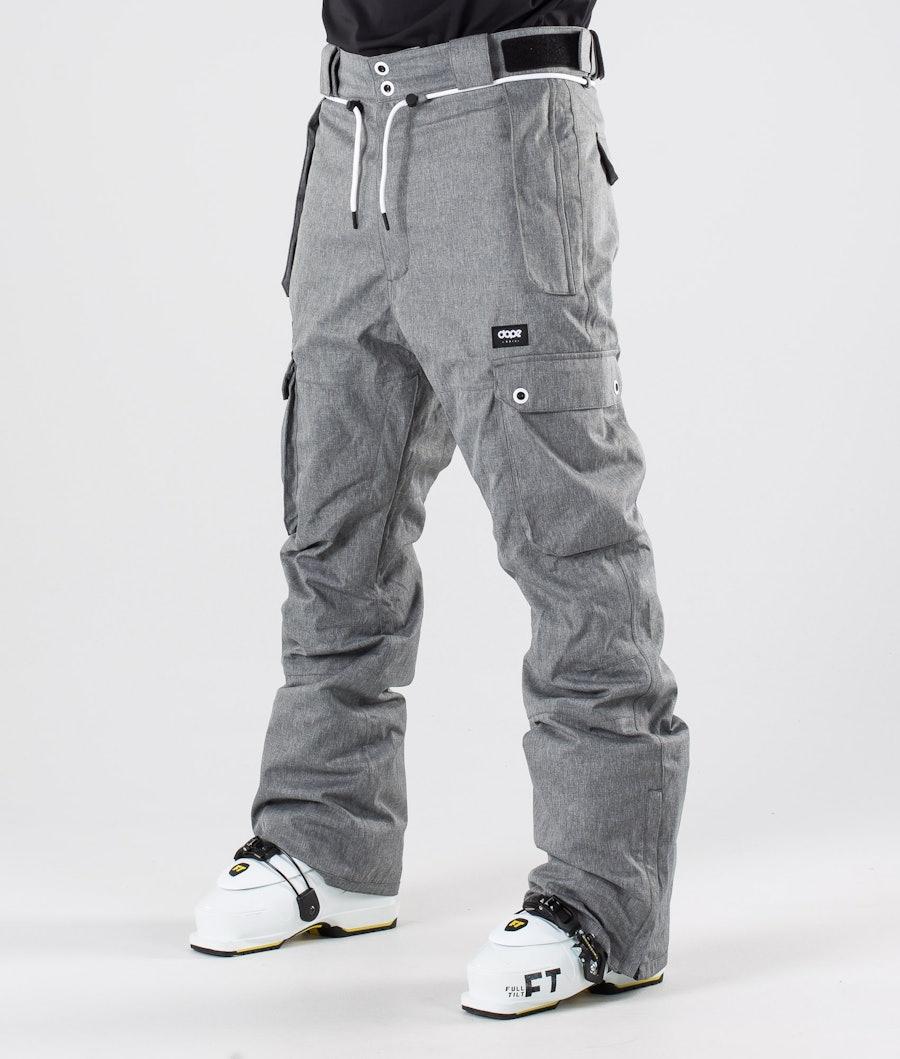 Dope Iconic Ski Pants Grey Melange