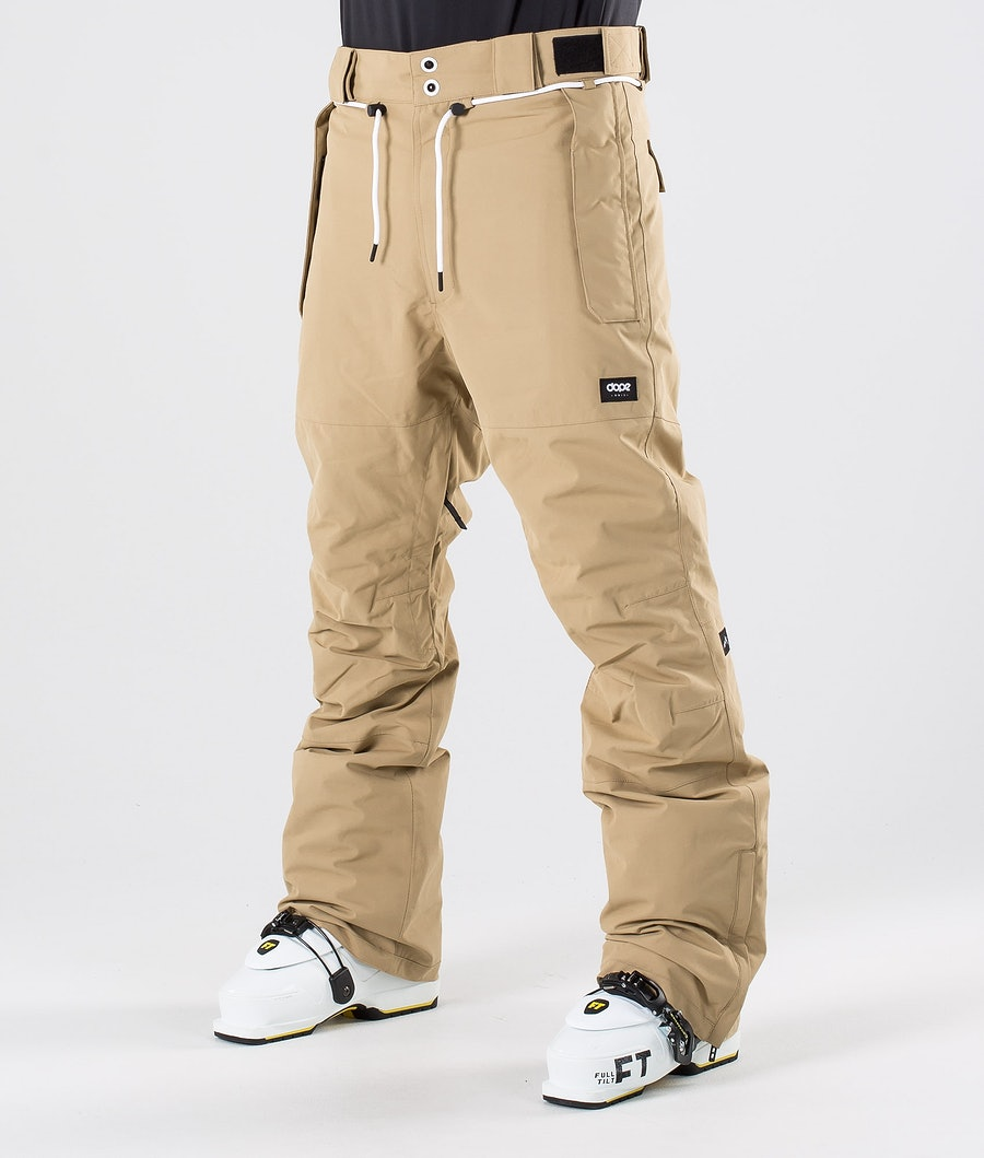 Dope Iconic NP Ski Pants Khaki