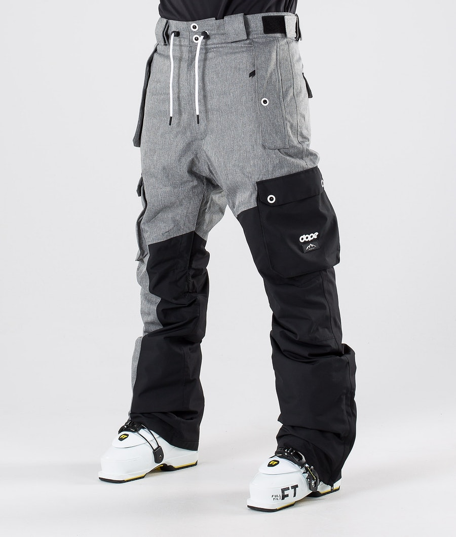 Dope Adept Skidbyxa Grey Melange/Black