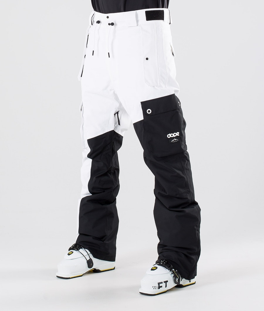 Dope Adept Ski Pants Black/White