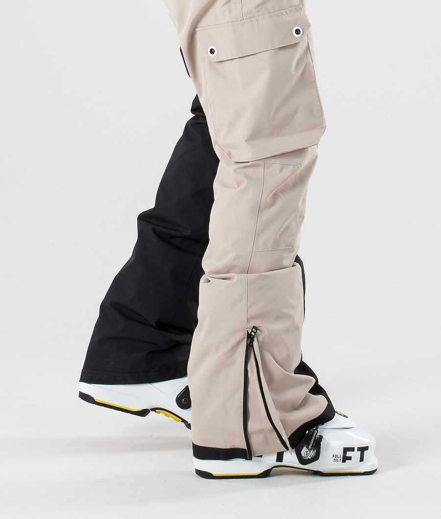 Dope Adept Ski Pants Sand/Black