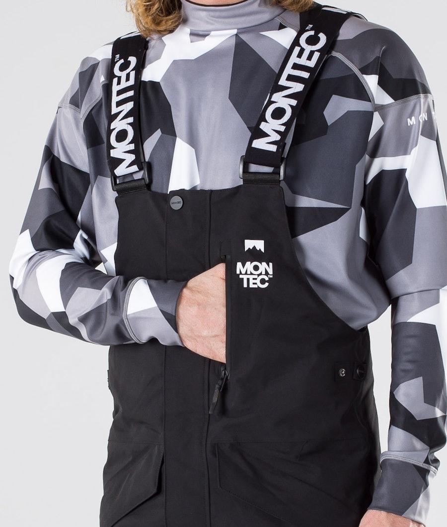 Montec Fawk Snowboard Pants Black