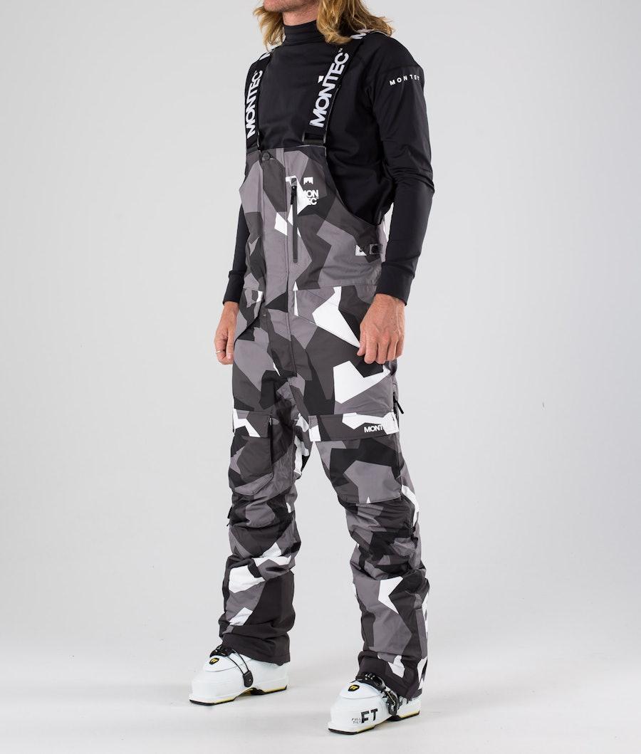 Fawk Ski Pants Men Arctic Camo