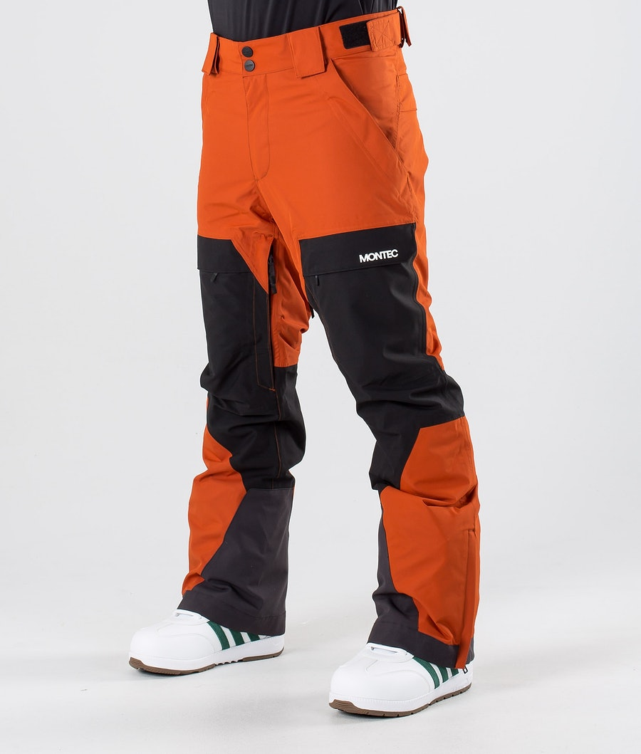 Montec Dune Snowboard Pants Clay/Black