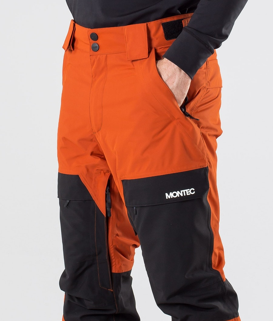 Montec Dune Ski Pants Clay/Black