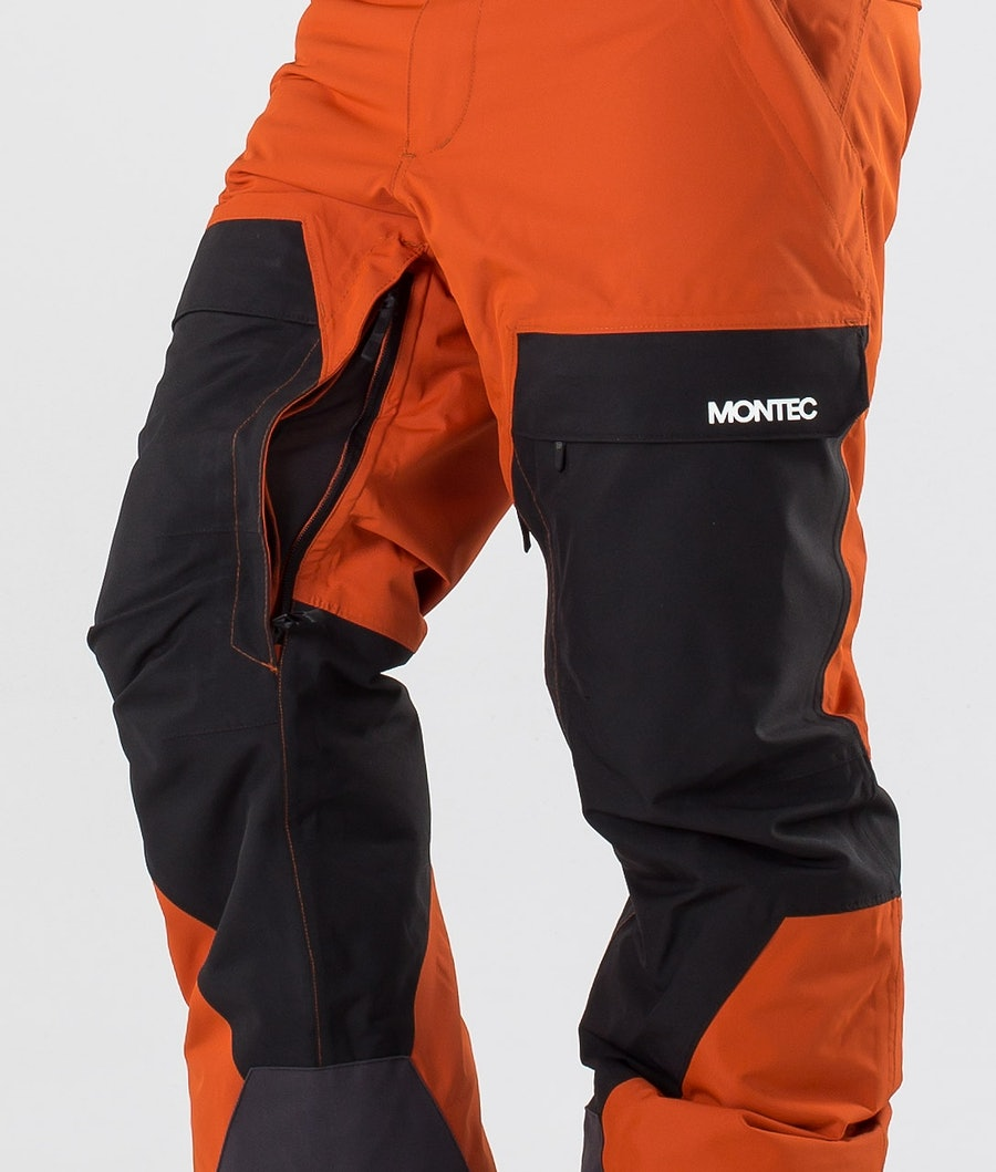 Montec Dune Pantaloni da snowboard Clay/Black