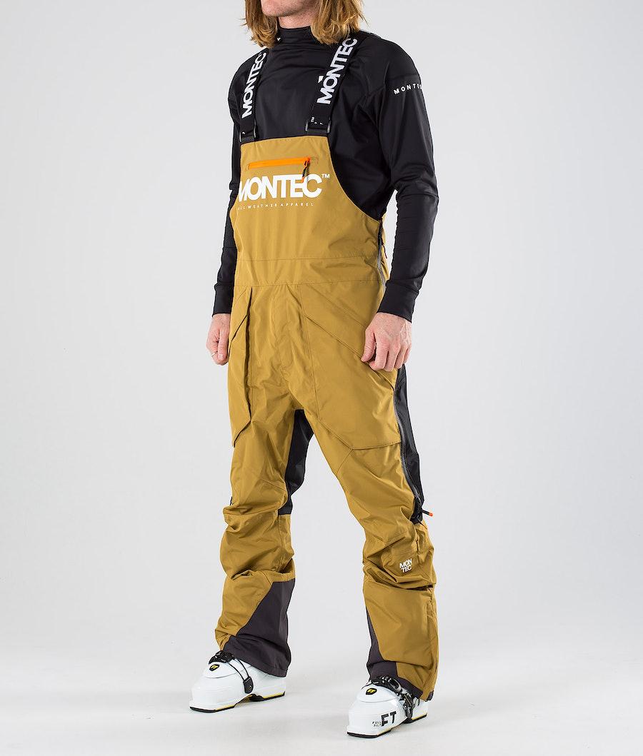 Montec Fenix Ski Pants Gold