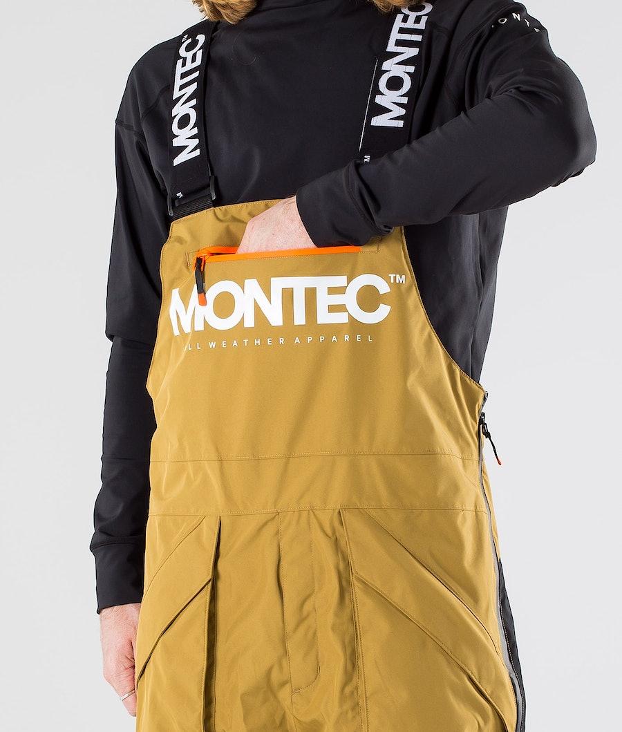 Montec Fenix Skidbyxa Gold