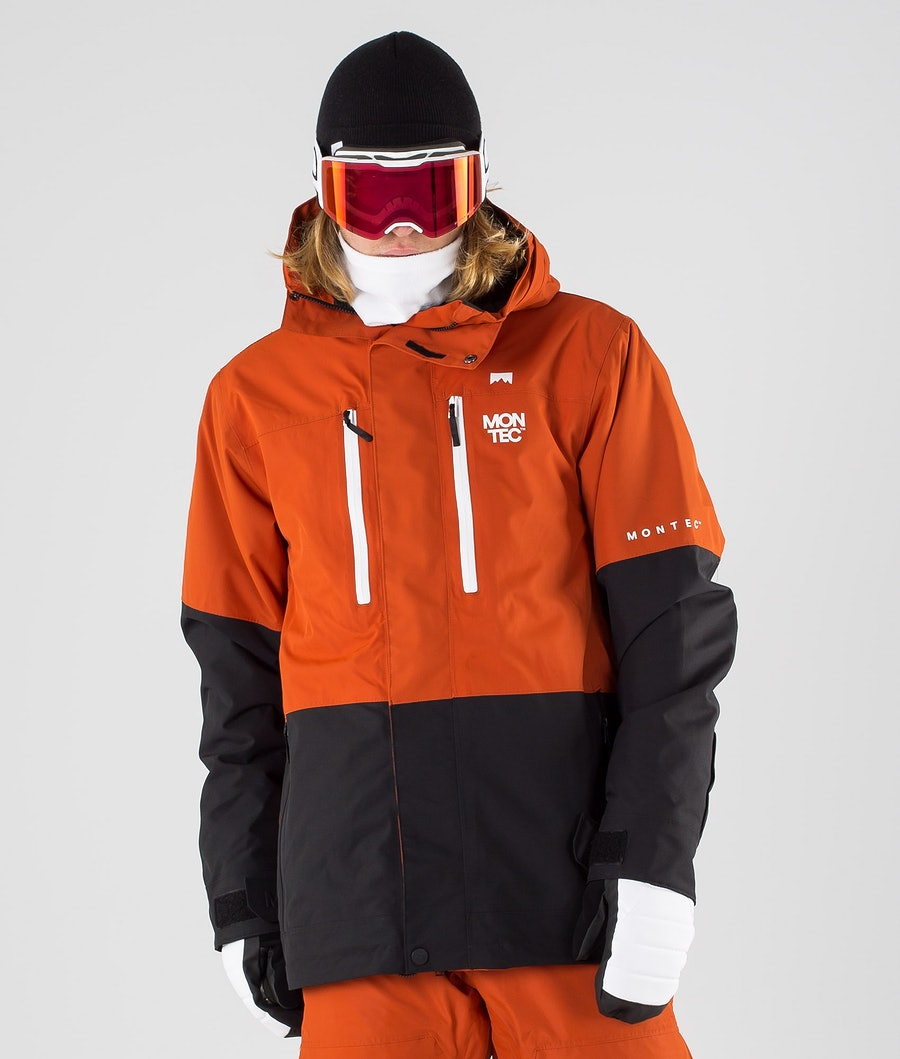 Montec Fawk Ski Jacket Clay/Black