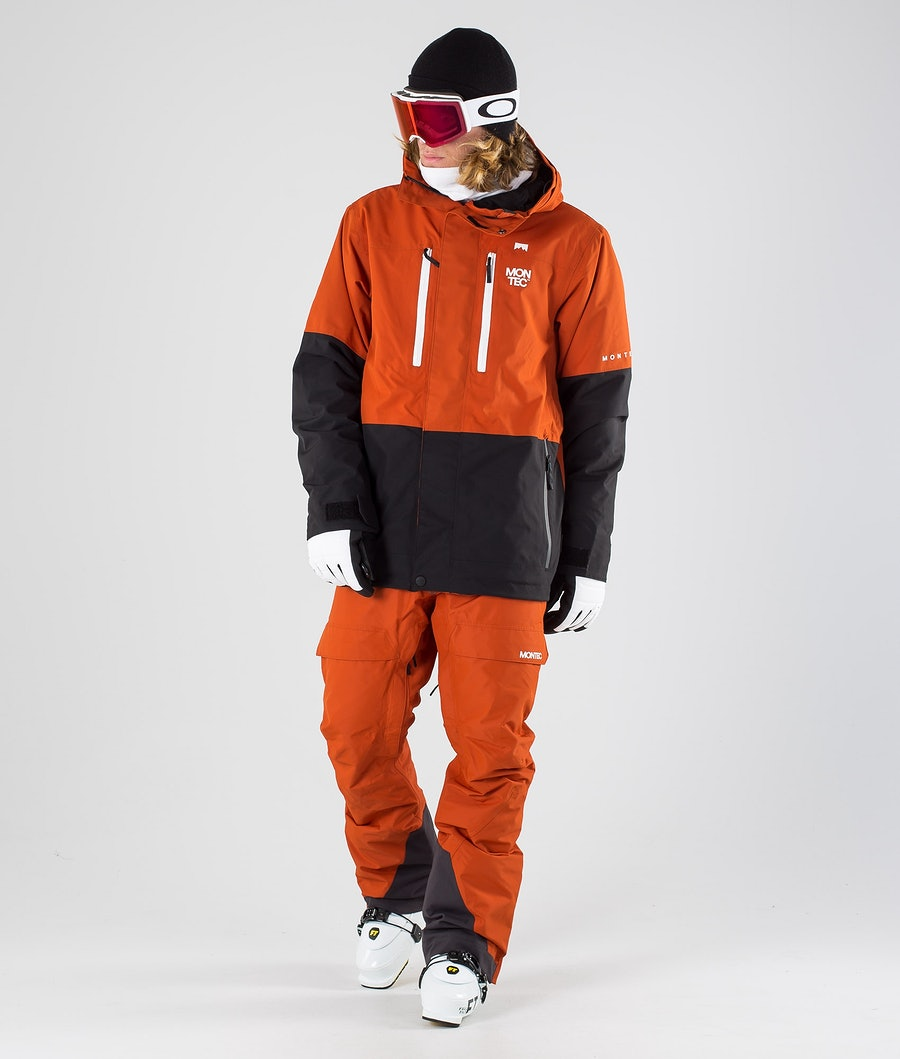 Montec Fawk Skijakke Clay/Black
