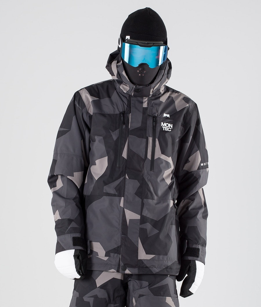 Montec Fawk Ski Jacket Night Camo