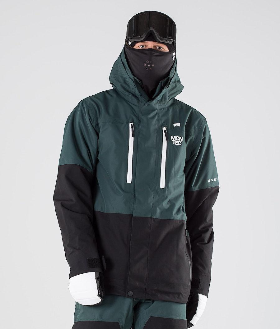 Fawk Ski Jacket Men Dark Atlantic/Black