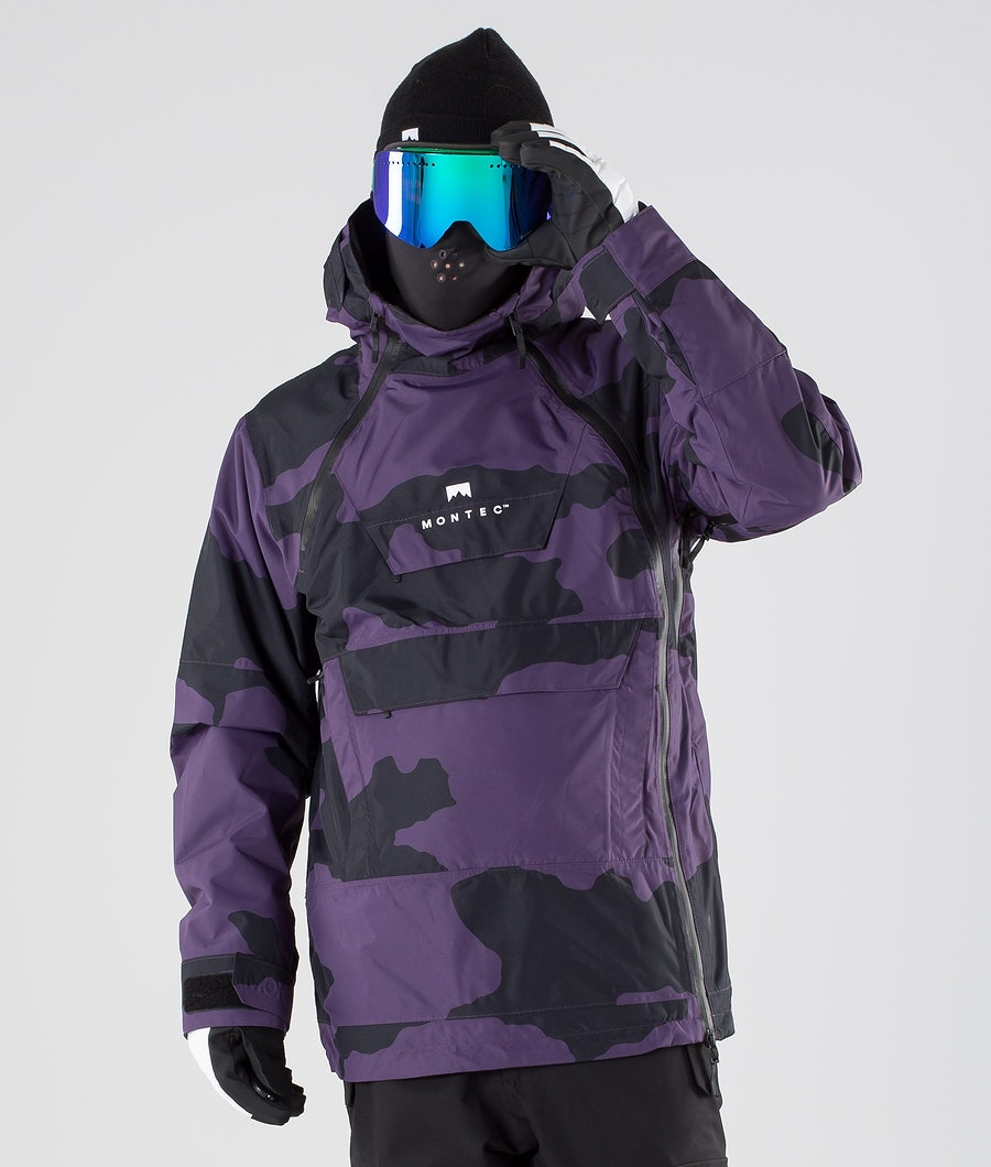 Montec Doom Skijakke Grape Camo