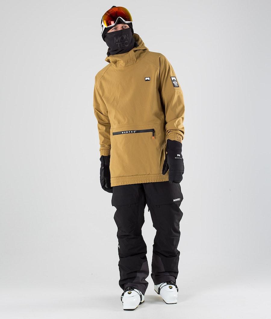 Montec Tempest Skijakke Gold