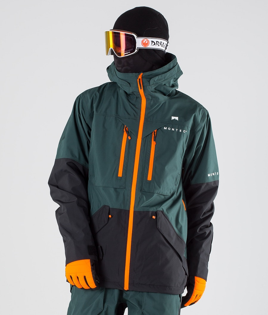 Montec Fenix Veste de Ski Dark Atlantic Black
