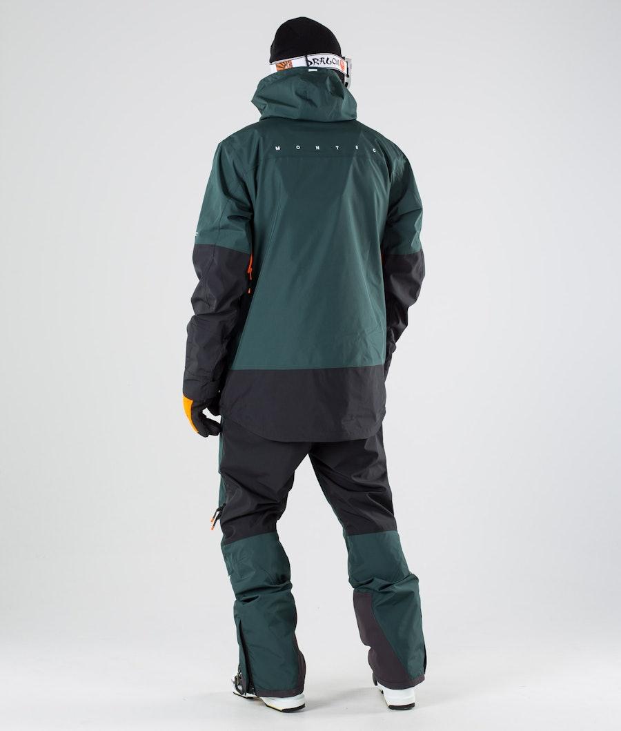 Montec Fenix Skijakke Dark Atlantic Black
