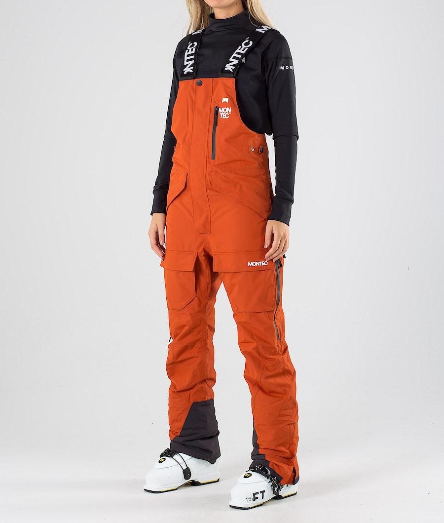 Montec Fawk W Pantalon de Ski Clay
