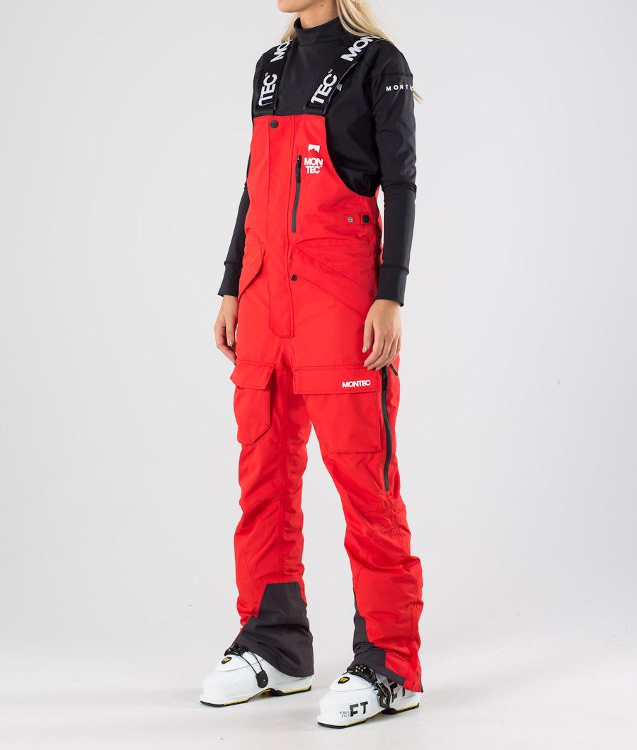 Montec Fawk W Pantalon de Ski Red