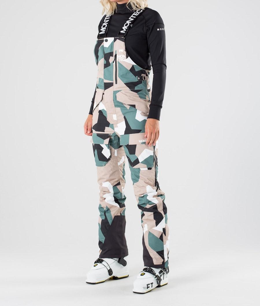 Montec Fawk W Ski Pants Atlantic Camo