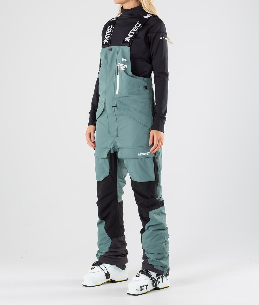 Fawk W Ski Pants Women Atlantic/Black