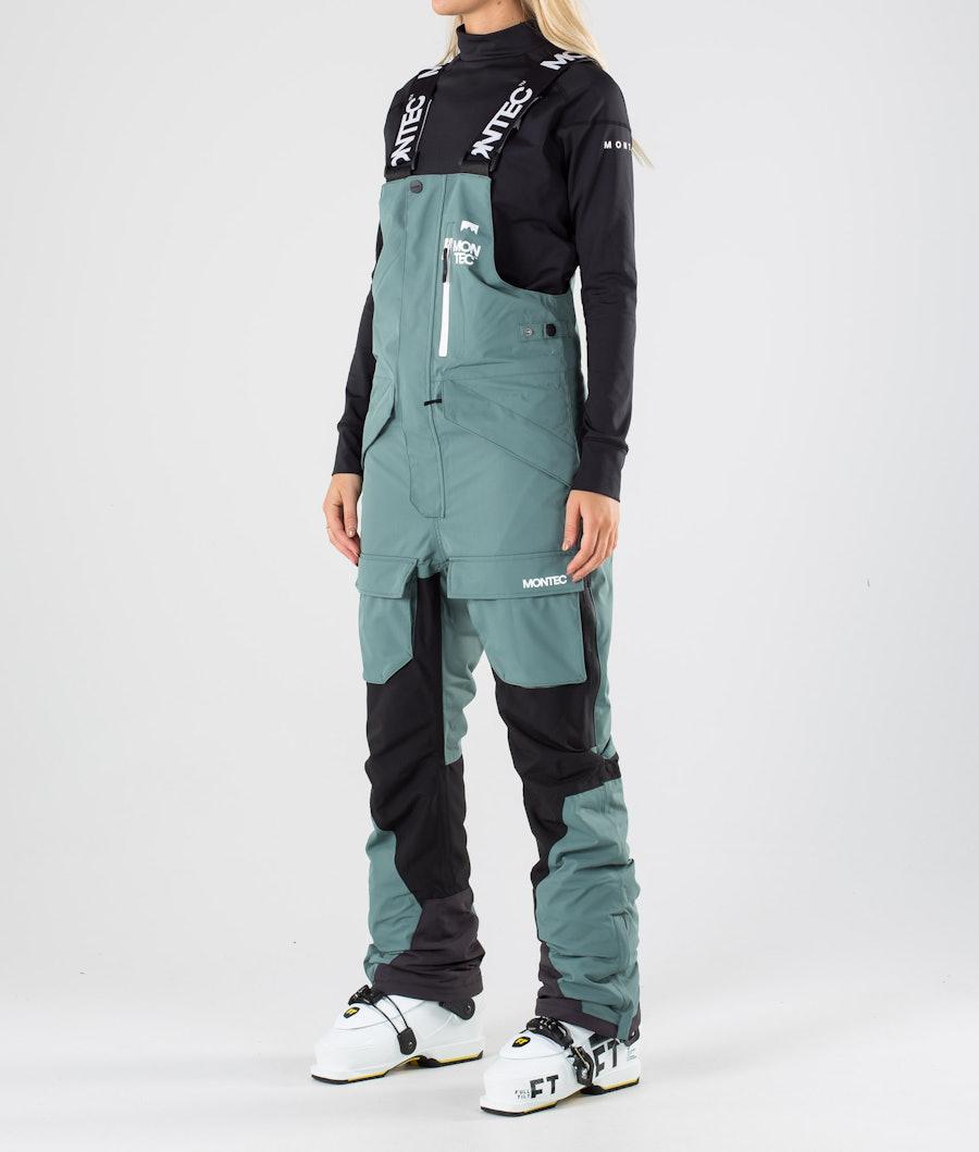 Montec Fawk W Ski Pants Atlantic/Black