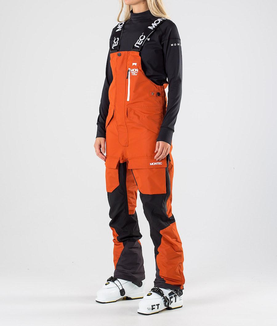 Montec Fawk W Ski Pants Clay/Black