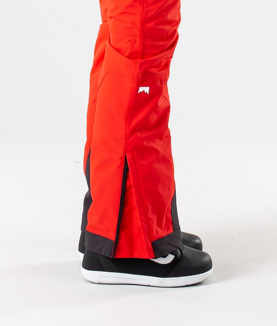 Montec Dune W Women's Snowboard Pants Red