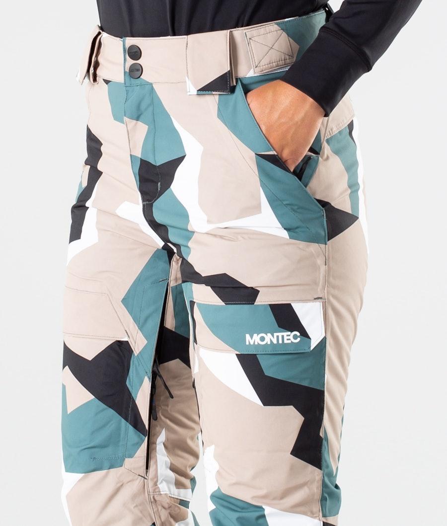 Montec Dune W Women's Snowboard Pants Atlantic Camo