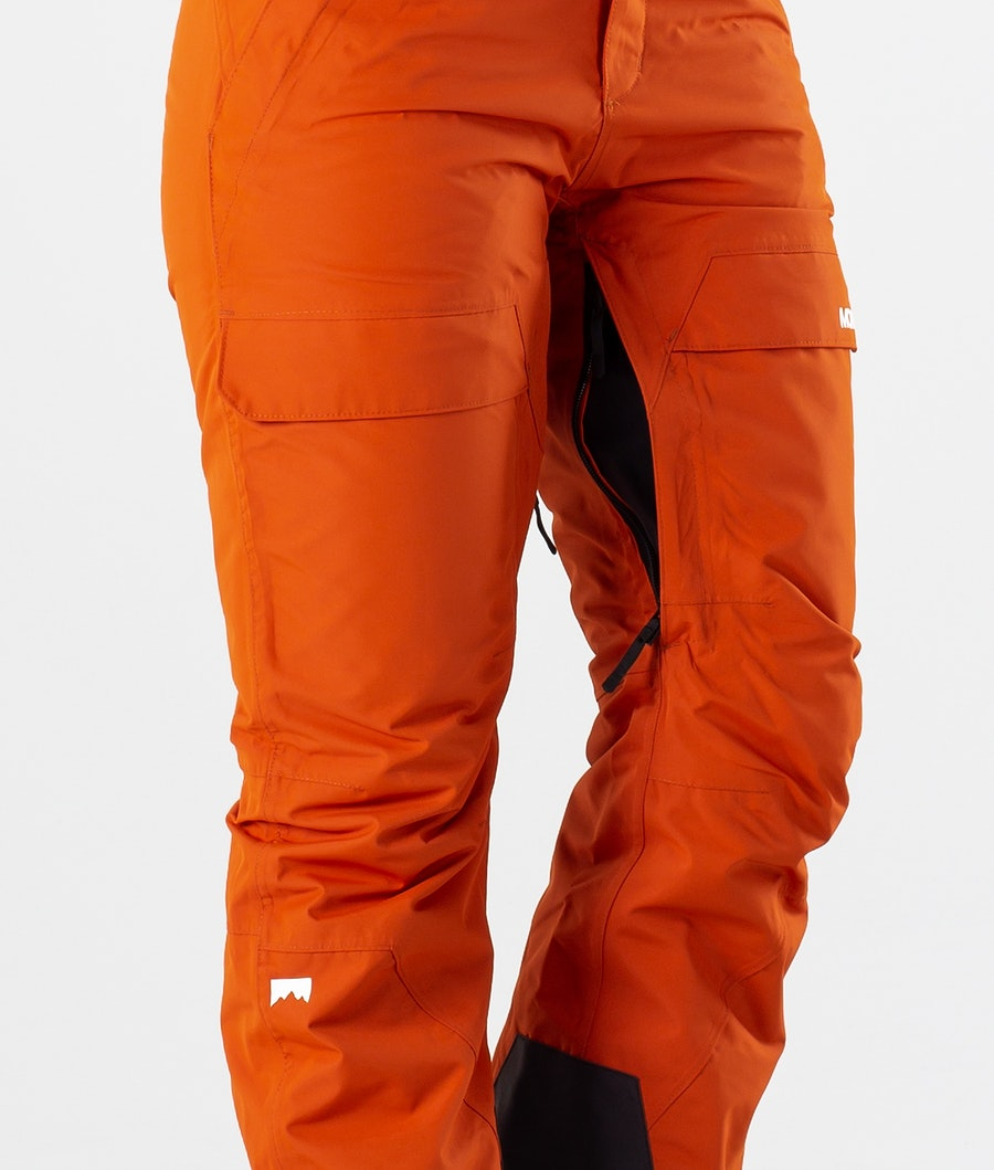 Montec Dune W Pantalon de Ski Femme Clay