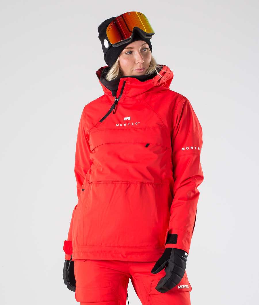 Montec Dune W Giacca da snowboard Red