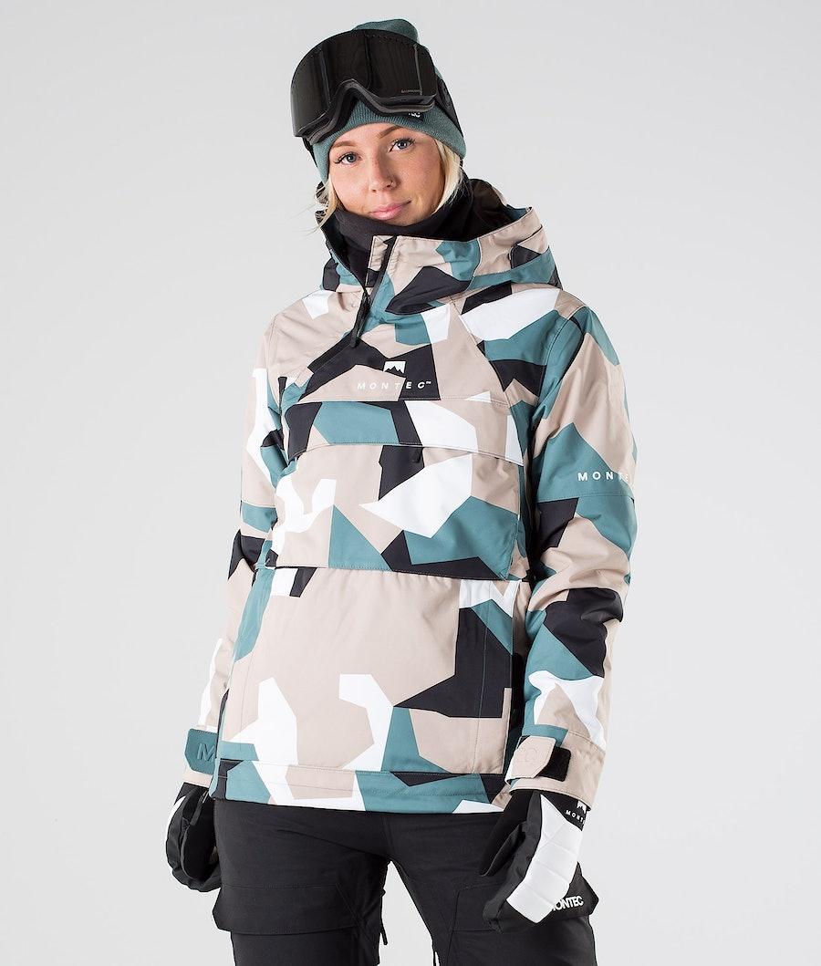 Montec Dune W Ski Jacket Atlantic Camo