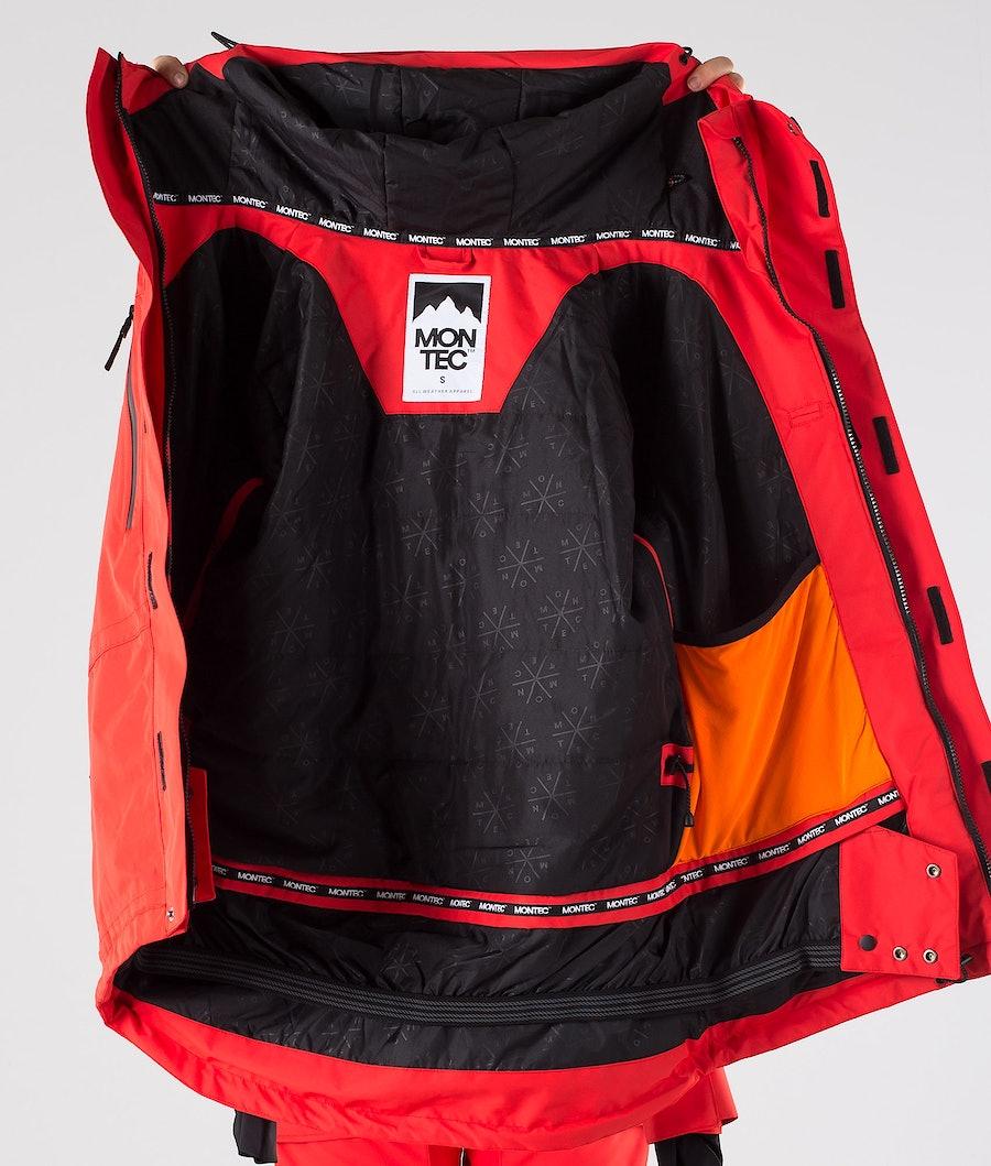 Montec Fawk W Women's Snowboard Jacket Red
