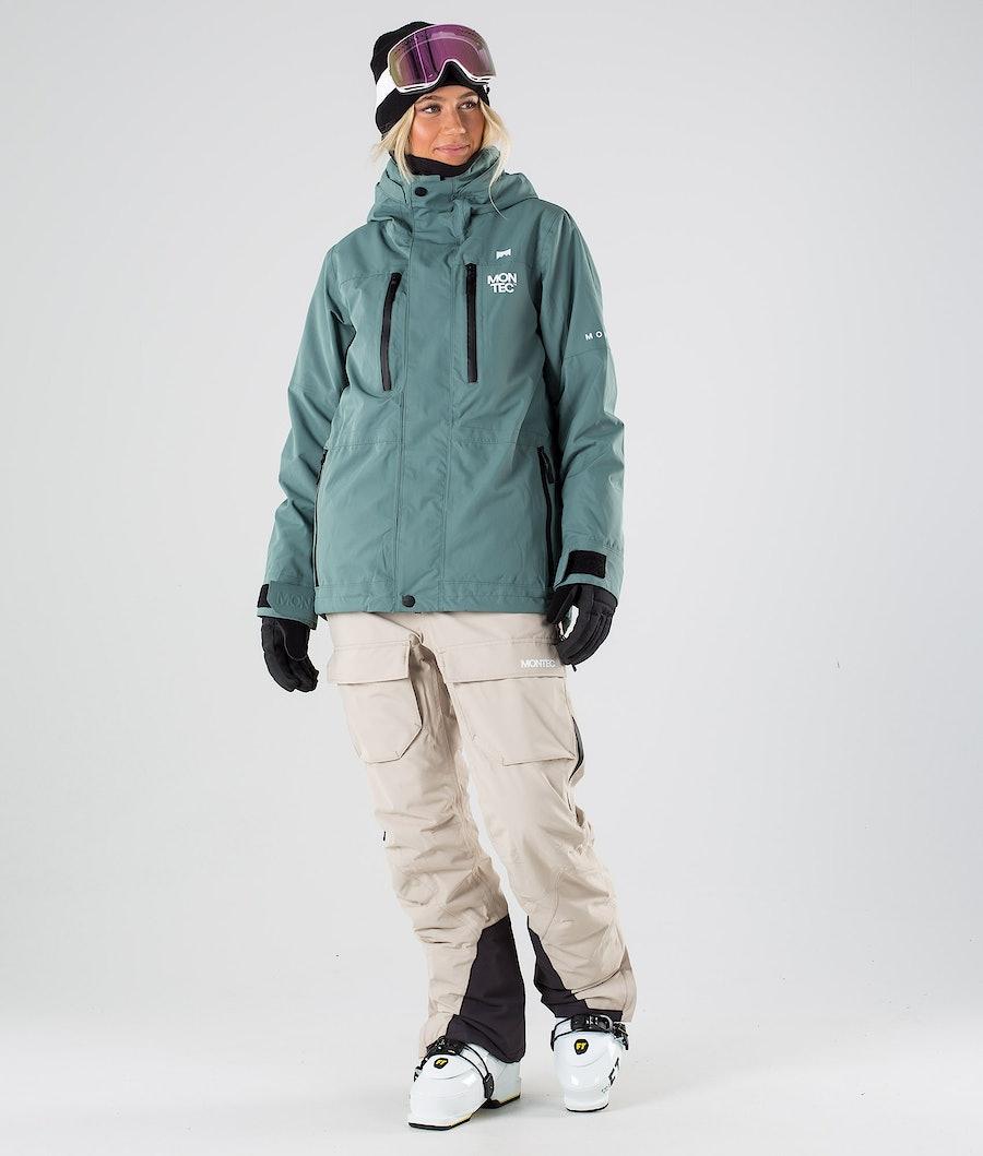 Montec Fawk W Skijakke Dame Atlantic